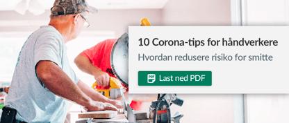 10 Corona-tips for håndverkere - Mail bilde