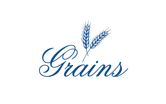 Grains - blå logo til instagram